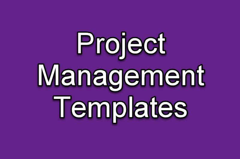 Free Project Management Templates Project management, Management