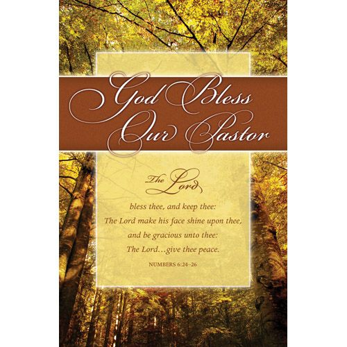 Pastor Appreciation Worship Bulletin Covers | Bulletin ...