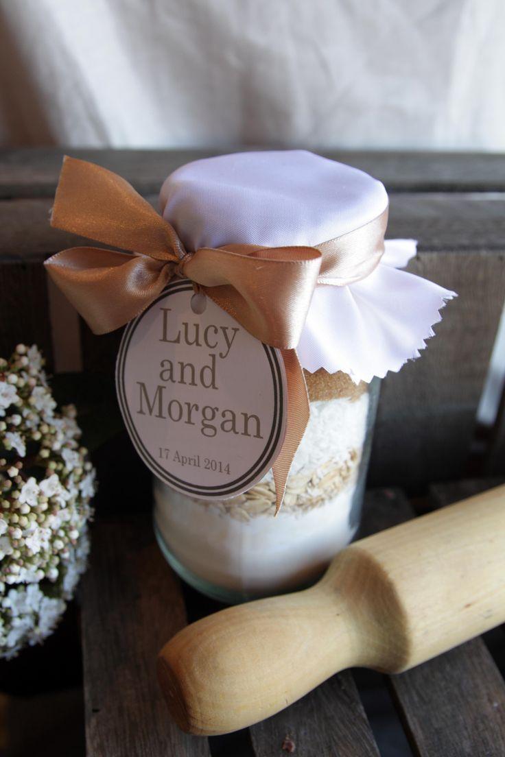A Cookie Jar Mix Is A Sweet Diy Wedding Favor See More Cookie Jar