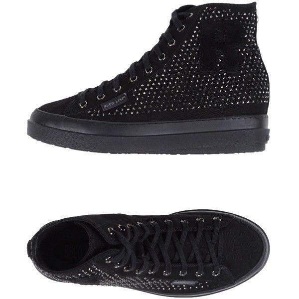 concealed wedge sneakers - Black Ruco Line unwm1NtG