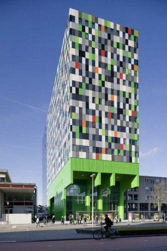 380 Student Units and Public Space Design - Architectenbureau Marlies Rohmer