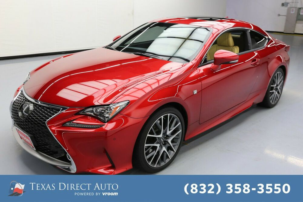 For Sale 2016 Lexus RC Texas Direct Auto 2016 Used 3.5L