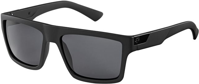 711800489a FOX Director Polarized Eyewear sunglasses (MATTE BLACK GREY POLARIZED)