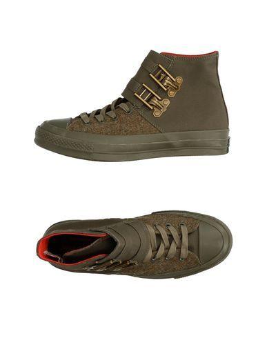 e409201348d CONVERSE ALL STAR CHUCK TAYLOR II Men s High-tops   sneakers Military green  ...