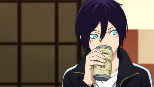 Yato really is an alcoholic x)