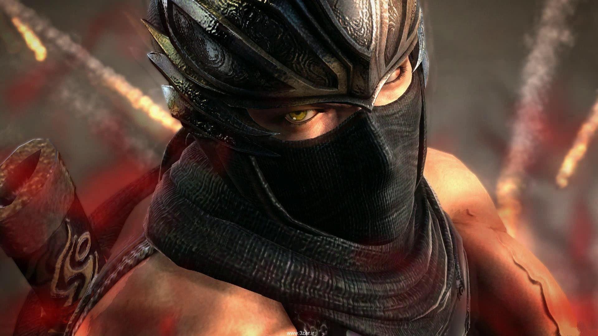 Sexy Ninja Art HD Desktop Wallpaper Widescreen High Definition