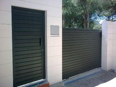 Cancela corredera m s porton ideas puertas correderas for Ver precios de aberturas de aluminio