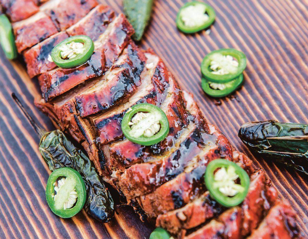 Grilling recipe stan hays pork tenderloin with jalapeno