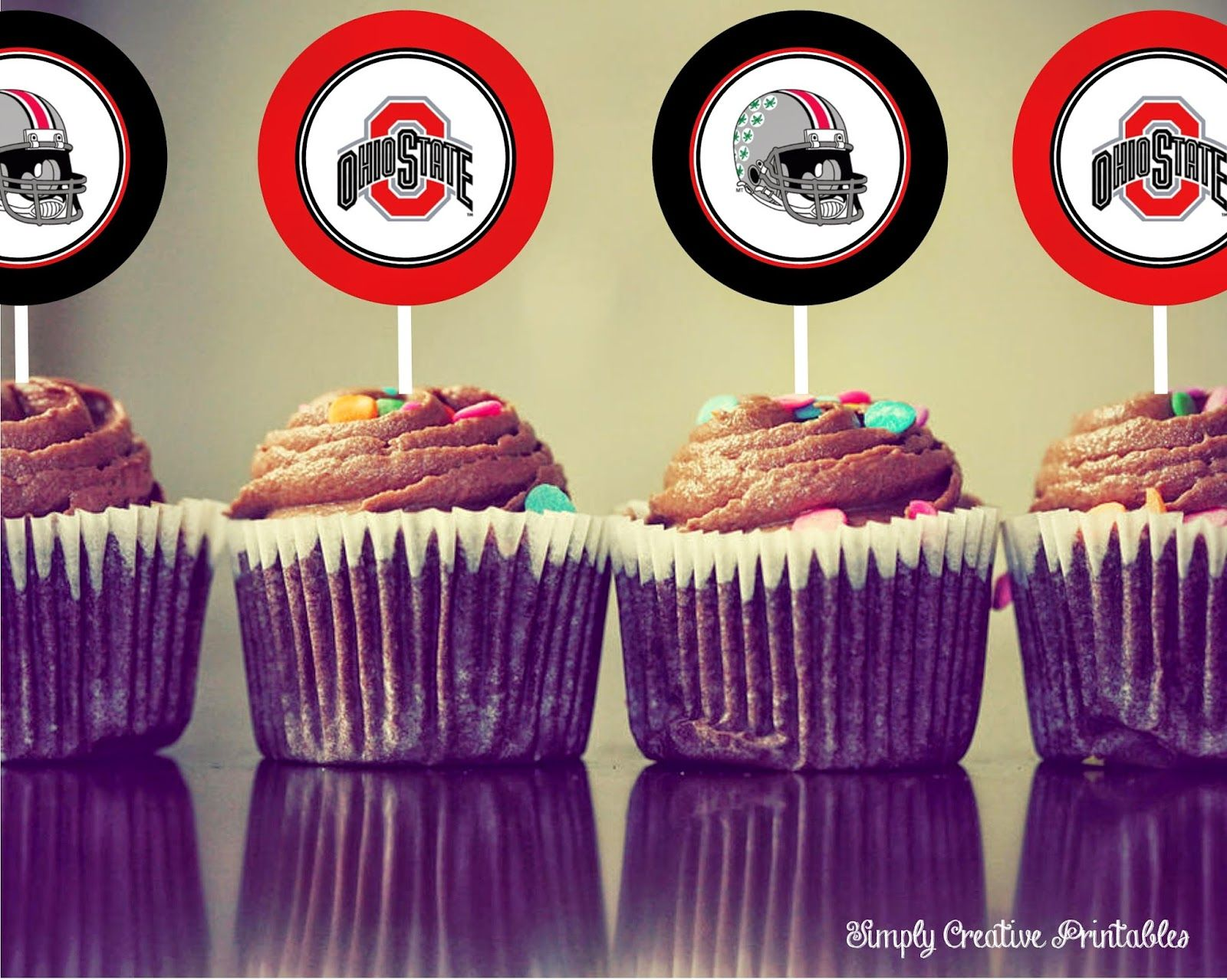 Top It Off With Images Buckeye Baby Shower Ohio State Cake