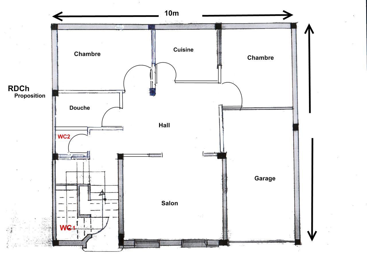 Plan De Maison Traditionnelle Gratuit Plan 14