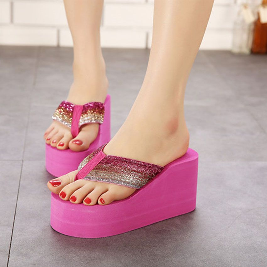 92102fb8682 Ultra High Heels Flip Flop