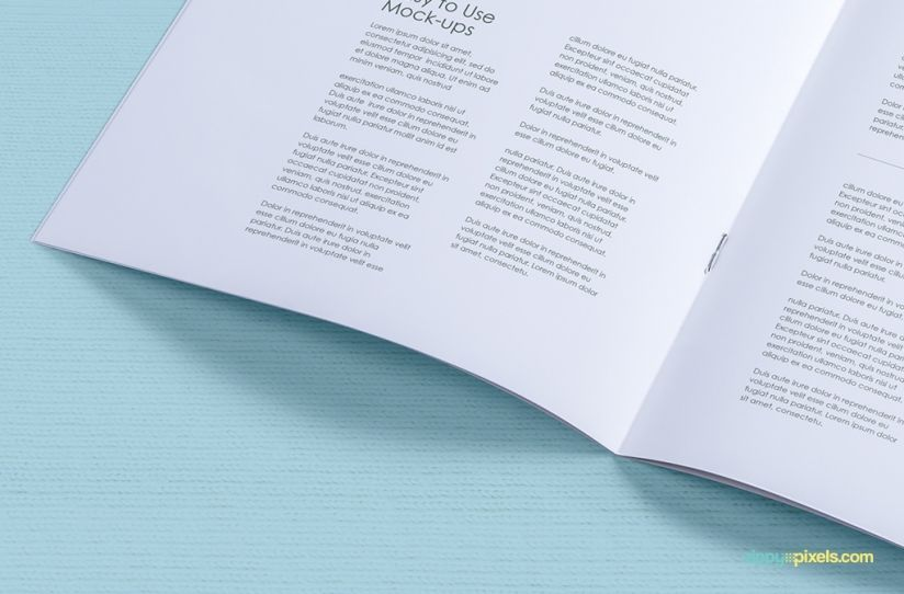 easy drag n drop design replacement free a4 brochure mockups by