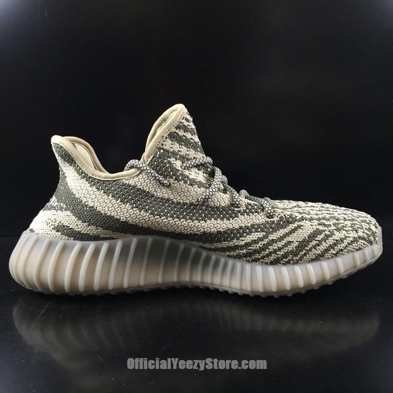 Glow in the Dark adidas Yeezy Boost 350 V2 Turtle Dove In Grey-1 ...