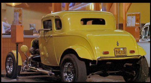 John Milner S Yellow 1932 Ford Deuce Coupe American Graffiti
