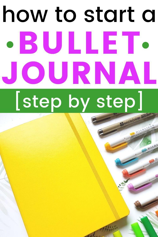 Bullet Journal Setup in 7 Actionable Steps