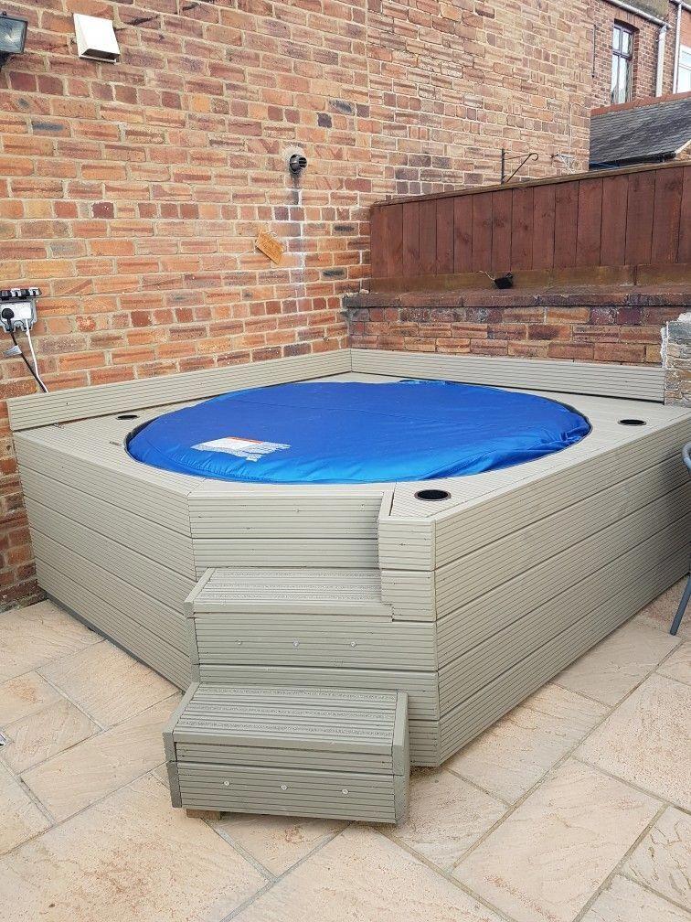 Lazy Spa Monaco Hot Tub Soround Hot Tub Gazebo Hot Tub Garden