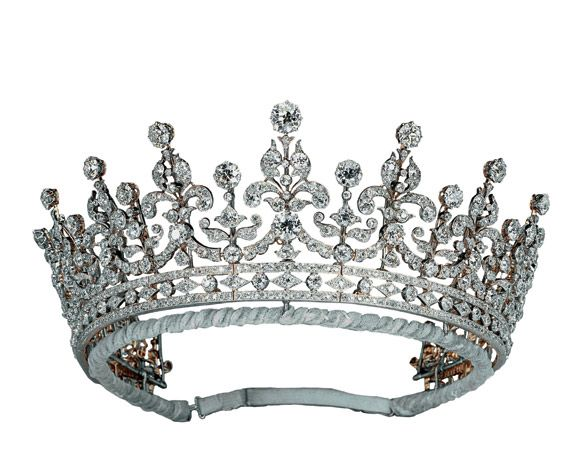 The tiara of the ladies of Great Britain and Ireland. Led
