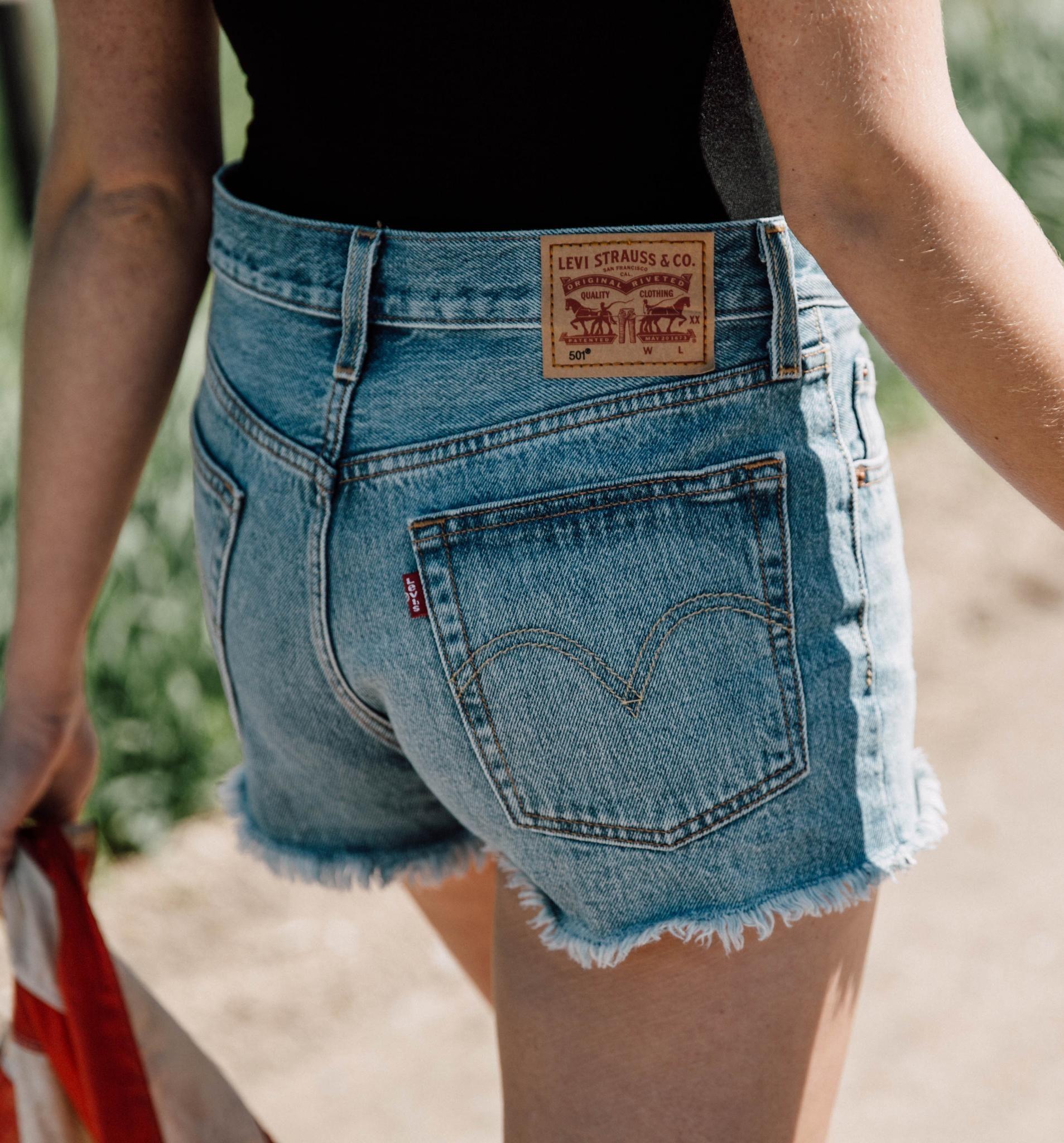 3d29b0b7 Levi's 501 Short - Women's Shorts | Buckle | Denim | Levi 501 shorts ...
