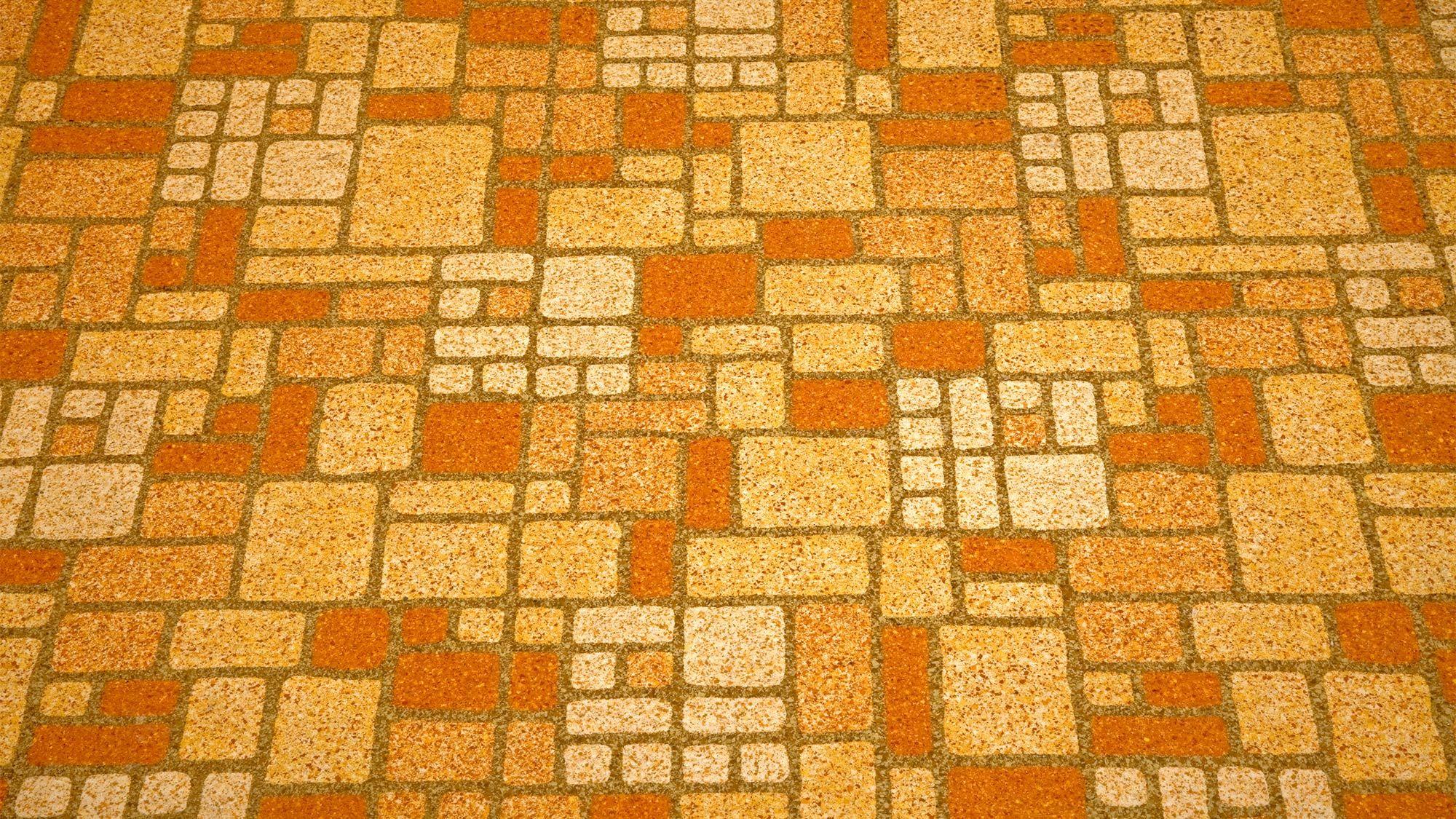 Worst Home Decor Of The 1960s Linoleum Childhood Memories Linoleum Flooring