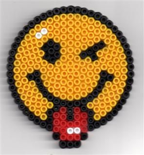 Albums perles a repasser fai da te pinterest smiley perler beads and beads - Perle a repasser smiley ...