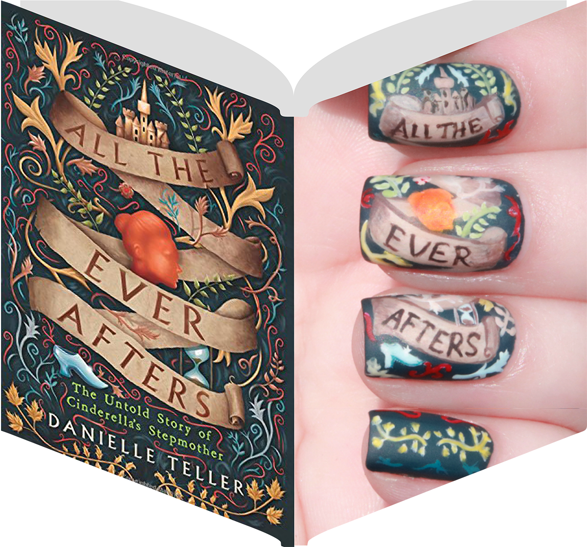 100 Best Nail Art Designs Inspired By Books Images In 2020 Nail Art Designs Nail Art Manicure