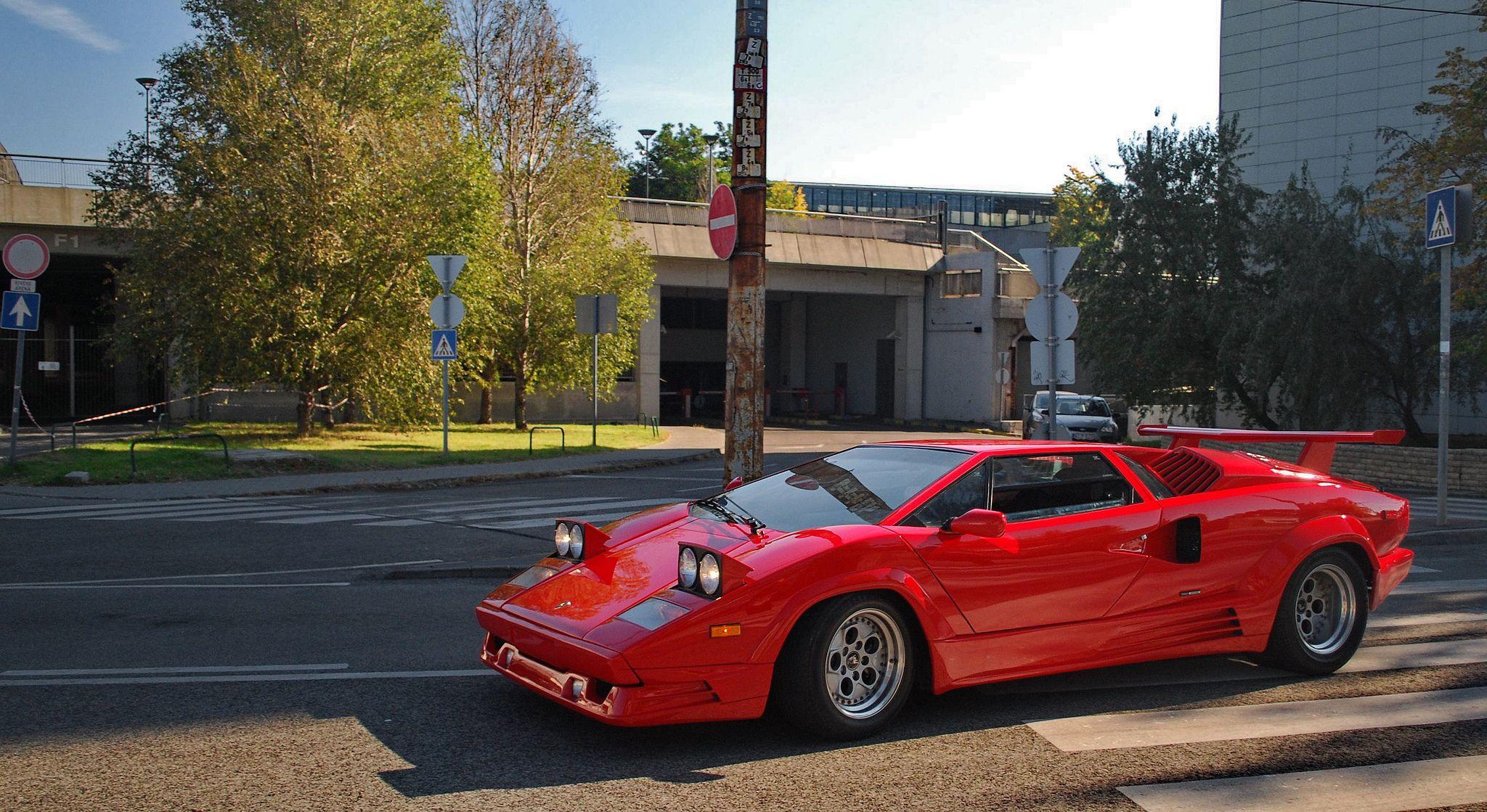 62bb2f7683b09d7c89337b227cbdcdb8 Elegant Lamborghini Countach 25th Anniversary Specs Cars Trend