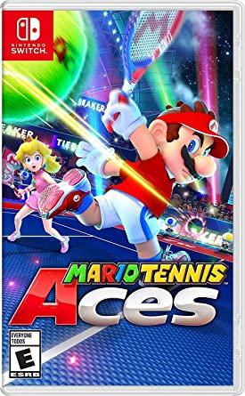 Amazon Com Mario Tennis Aces Nintendo Switch Nintendo Of America Video Games Nintendo Switch System Nintendo Switch Games Nintendo Switch