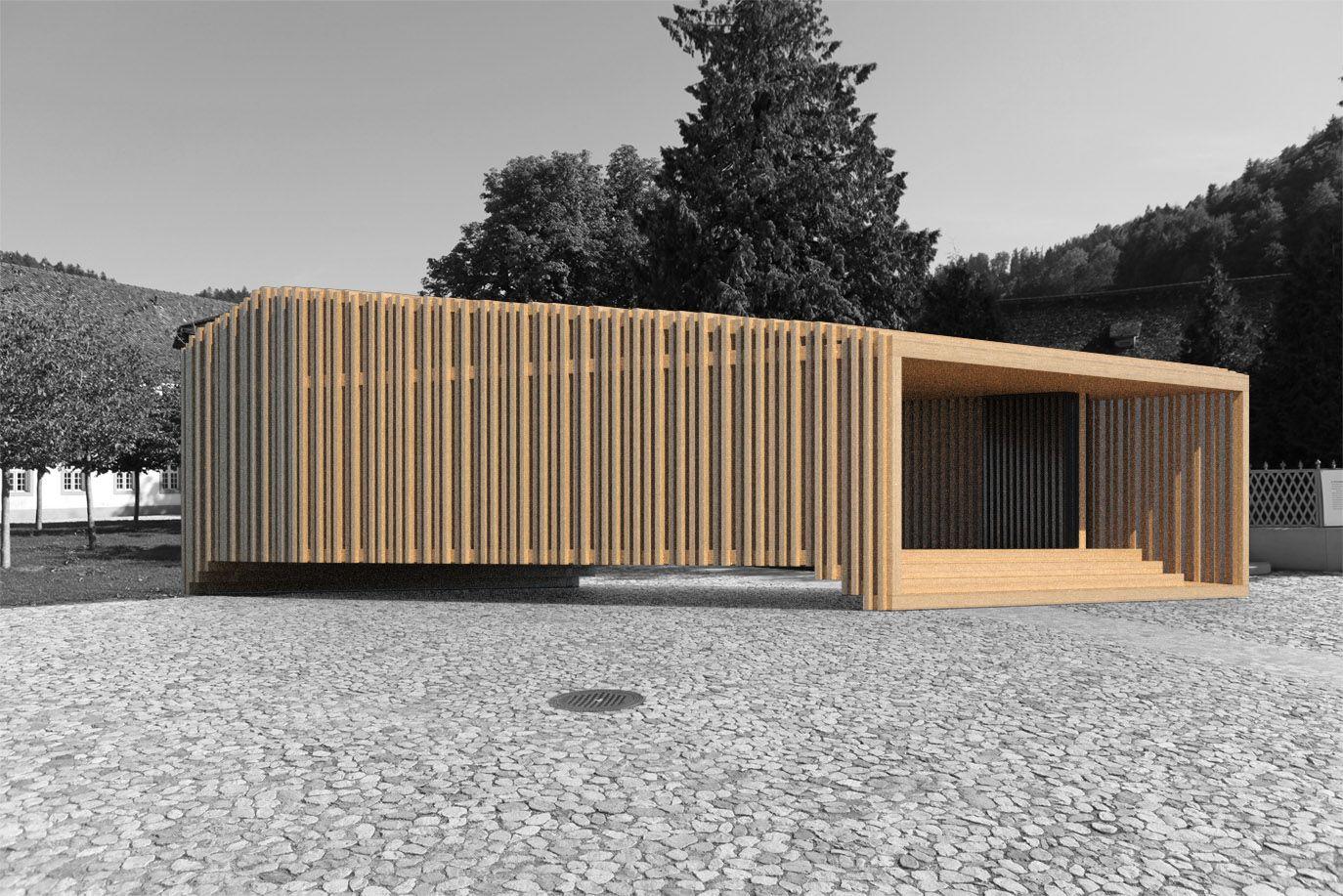 mobile wood pavillon | pavillons | pinterest | pavillon, mobiles, Gartengerate ideen