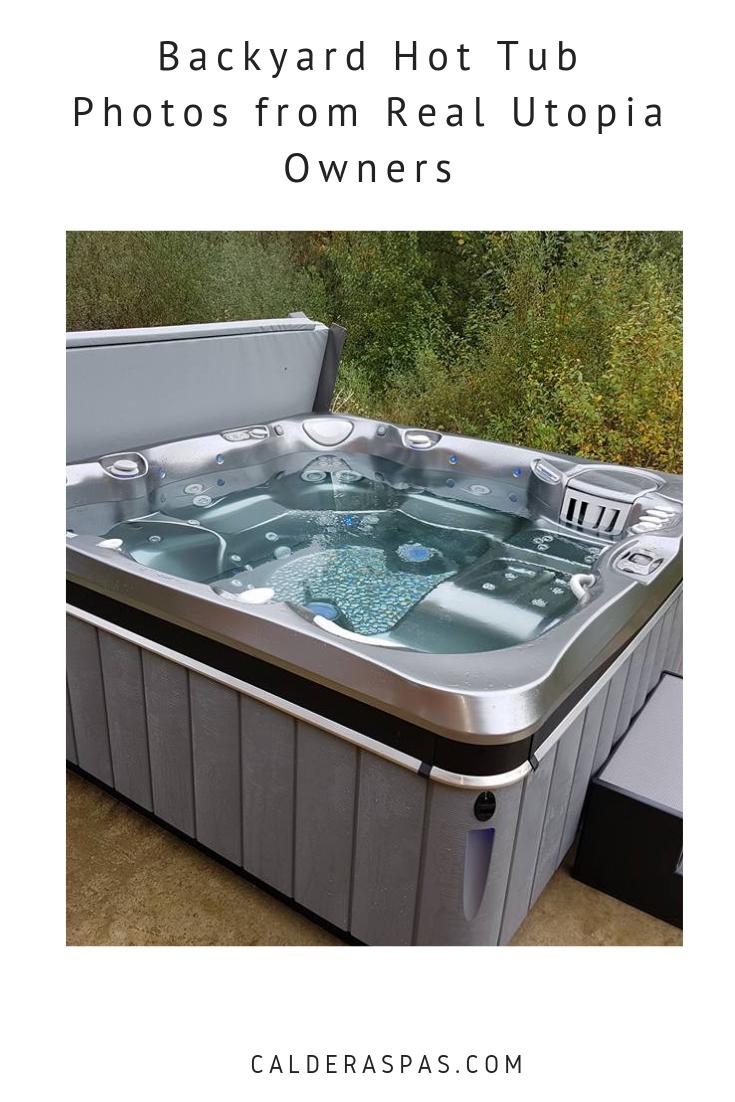 Backyard Hot Tub Photos From Real Utopia Spa Owners Caldera Spas Hot Tub Backyard Hot Tub Tub