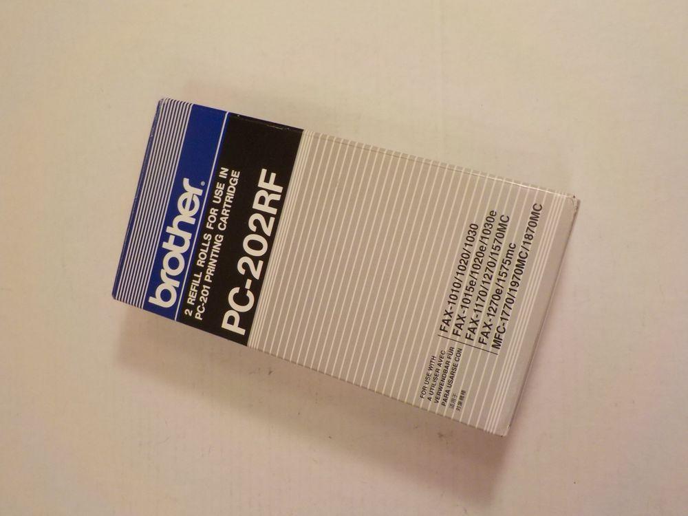 Brother Pc201 Fax Printing Cartridge Refills Pc202rf Box 2