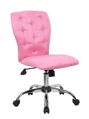 Kids Healy Pink Desk Chair In 2020 Pink Desk Chair Desk Chair Girls Desk Chair