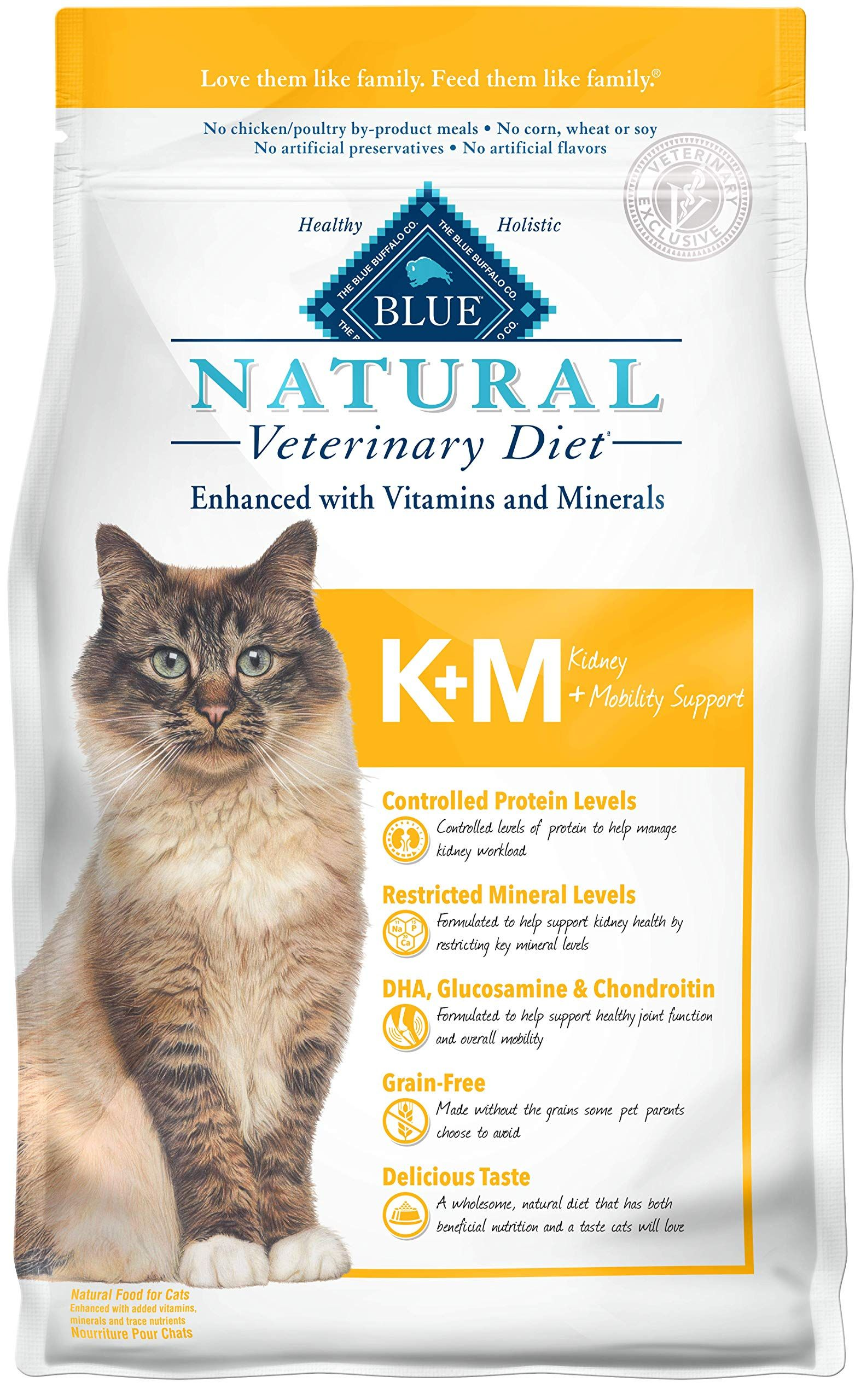 Blue Buffalo Natural Veterinary Diet Kidney Mobility