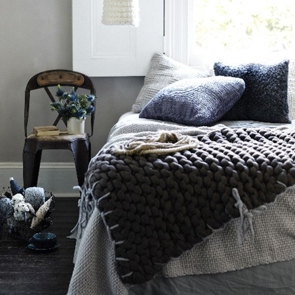 The 25 Best Bed Throws Ideas On Pinterest Large Knit