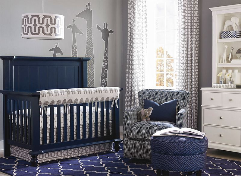 23 Blue Nursery Rooms For Your Little Bundle Of Joy Blue Crib