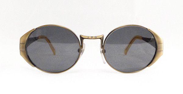 Jean Paul Gaultier 56-3174 Sunglasses. Round handmade sunglasses from 90s by Jean Paul Gaultier. Japanese manifacture. Rare masterpiece.  #vintage #vintagefashion #vintageframes #eyeglasses #sunglasses #vintagesunglasses #vintageeyeglasses #jeanpaulgaultier #jeanpaulgaultiersunglasses