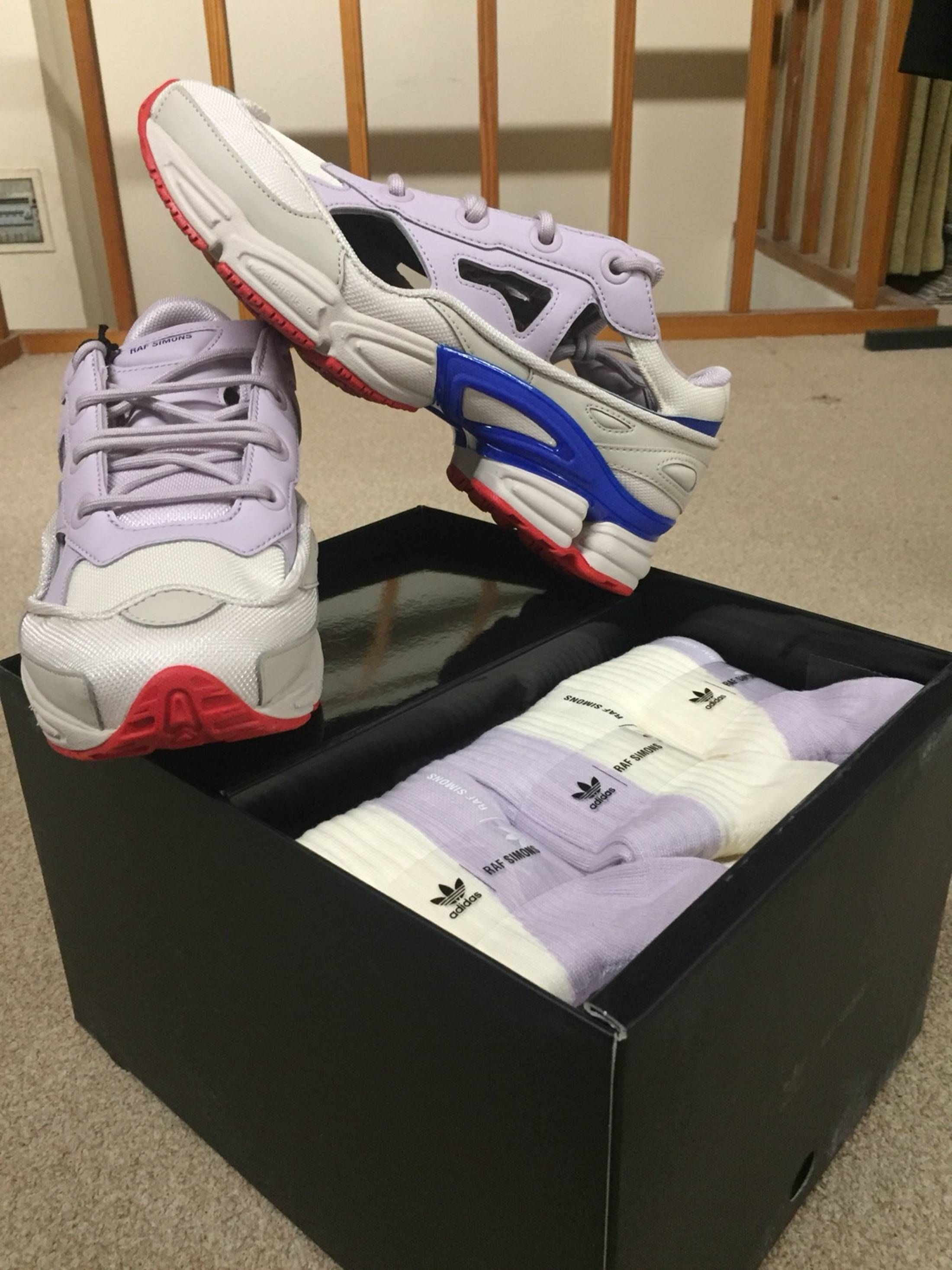 raf simons adidas sizing