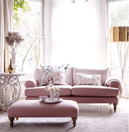 This Uk Made Itsy Soft Pink Sofa Is Part Of Our Capsule Collection Which Designed With Smaller Es In Mind