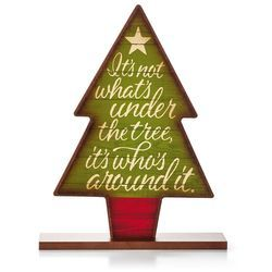Holiday Tree Sign,