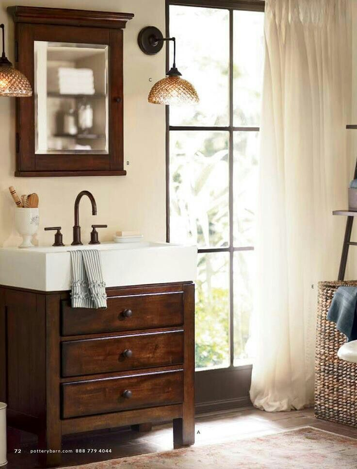 bathrooms sherwin williams wool skein pottery barn on rustic cabin paint colors id=33556