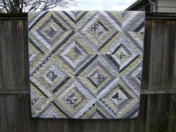 Is Black A Neutral Color neutral quilts | lap size string quilt in soft neutral colors