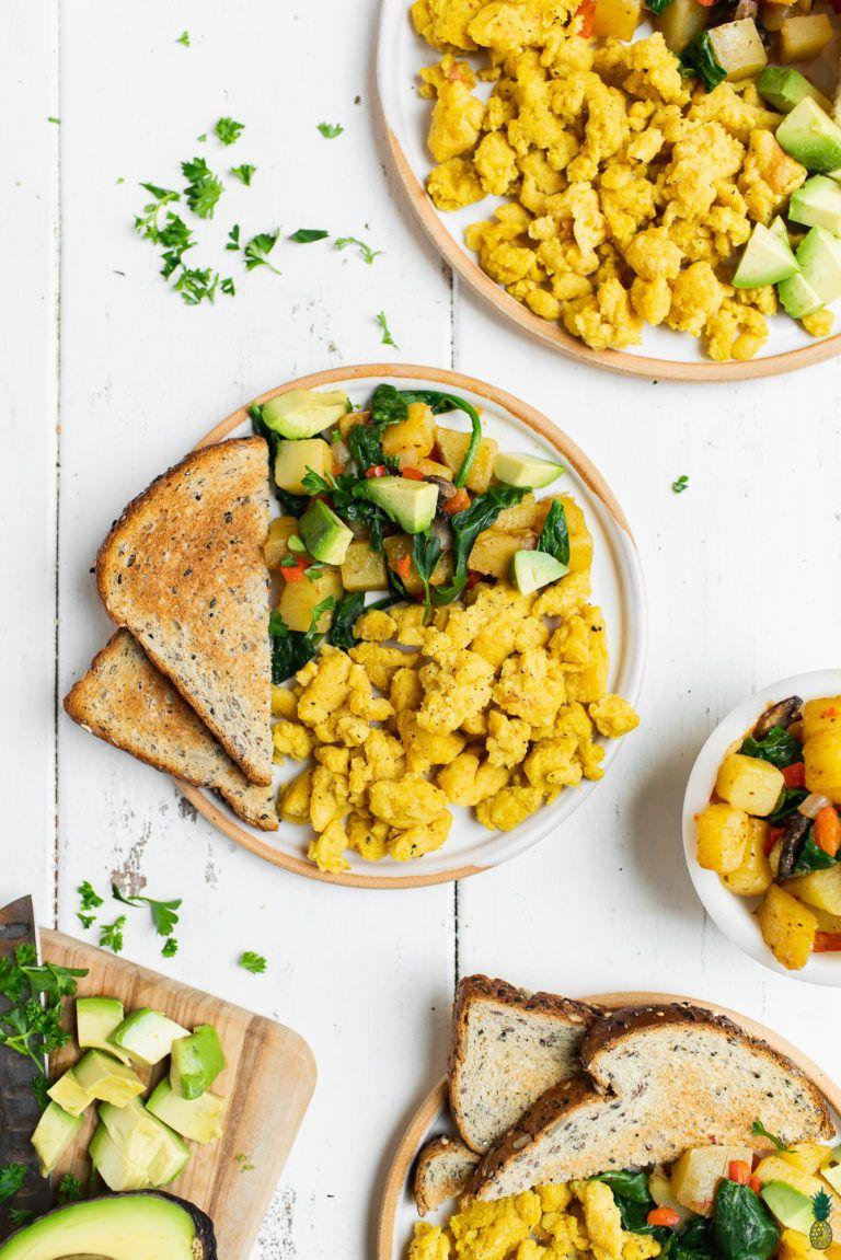 Chickpea Scramble (SoyFree & HighProtein Vegan Breakfast
