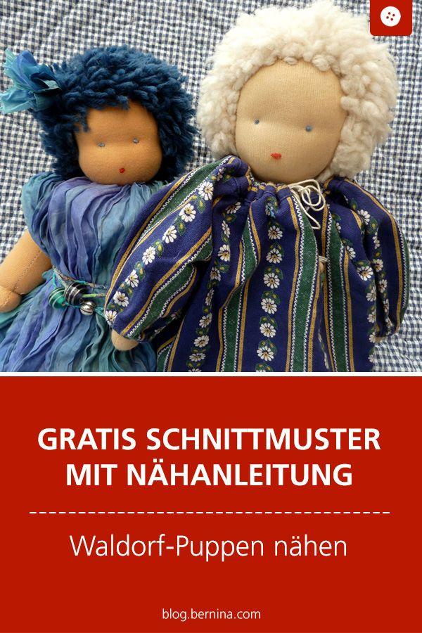 Photo of Nähpuppen Waldorfstil – Anleitung, Teil 4