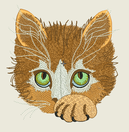 Free Embroidery Pattern Kittenfree Embroidery Designs Free