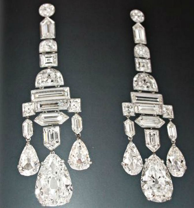 The Greville Chandelier Earrings In 1929 Mrs A British Society Hostess Ordered