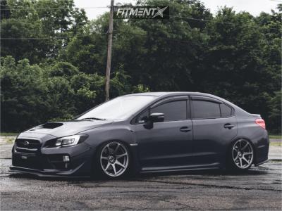 2016 Subaru Wrx Mb Wheels Battle Dunlop Grandtrek Pt2a Fitment