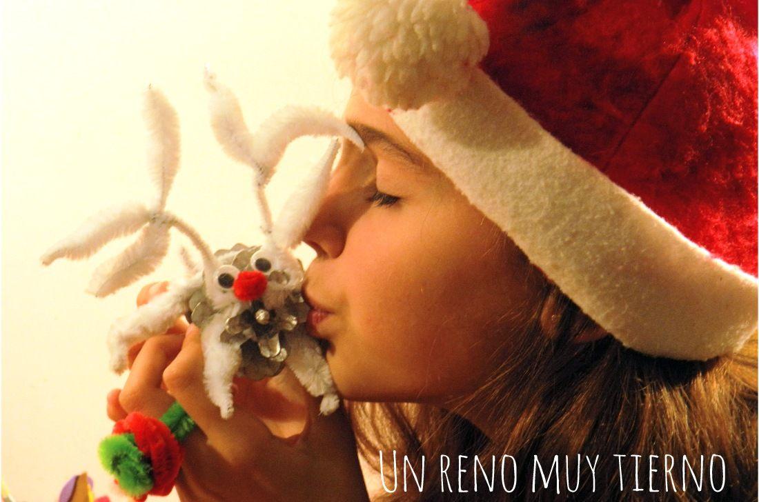 Renos para adornos de navidad manualidades de navidad for Manualidades renos navidenos