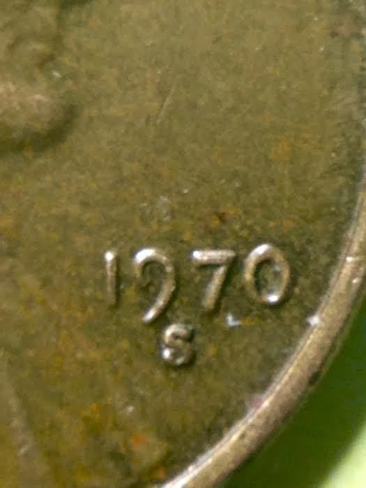 Details about 1970 S Double Die Memorial Lincoln Penny