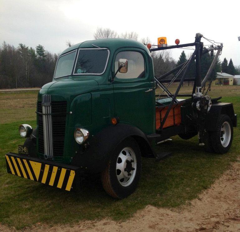 1937 GMC Rare Cabover And Rare Holmes Wrecker For Sale