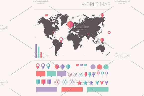 World map usa map european map graphics world map usa map europe map creativework247 gumiabroncs Gallery