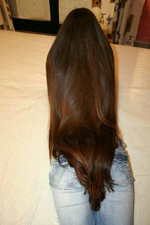 This Is Probably The Longest Thickest Hair I Ve Ever Seen